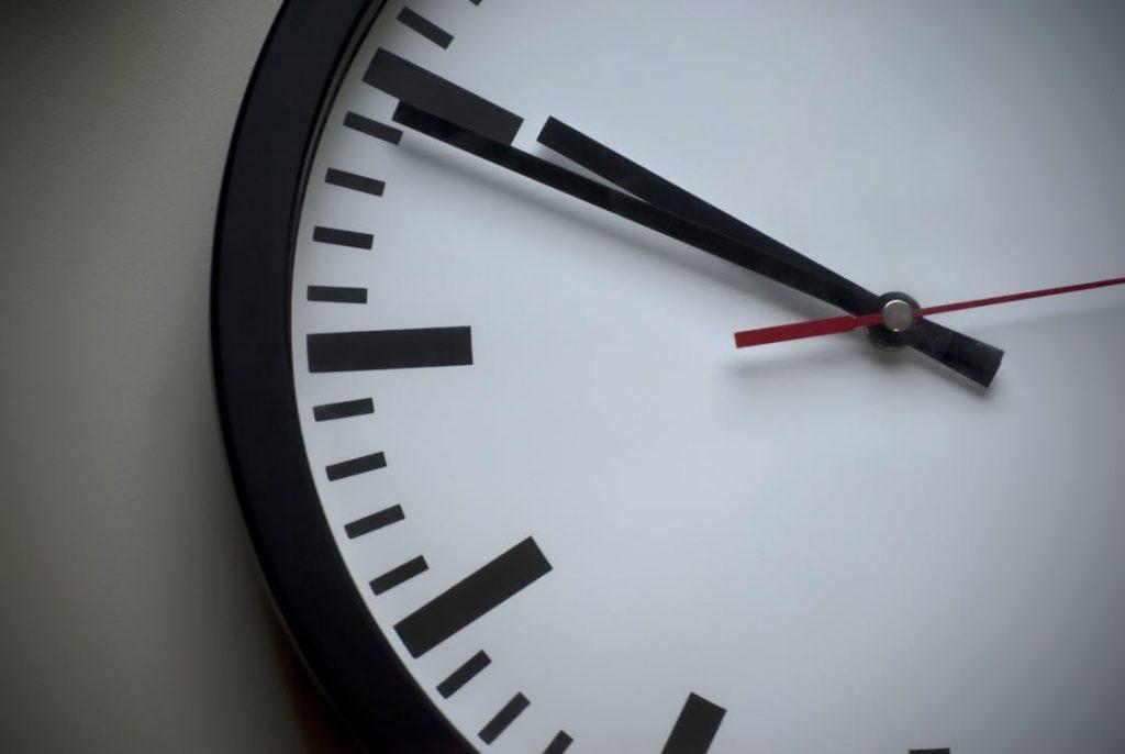 определяем время продажи
